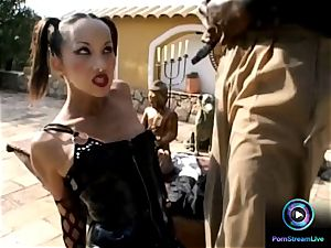 spectacular asian Katsuni gasping on a bbc