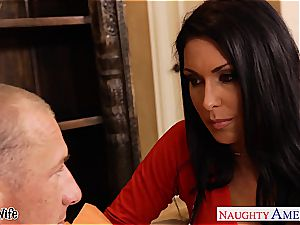 big-boobed wifey Jessica Jaymes plowing well