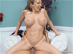 super-steamy backside Brittany Andrews riding on top