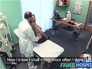 FakeHospital thick knockers honey has a back problem