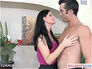 India Summer looks mind-blowing in high heels getting penetrated