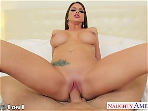 steaming housewife Brooklyn chase boinking firm