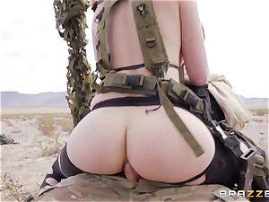 iron Gear Solid five assfuck porno parody with nasty dark haired Casey Calvert