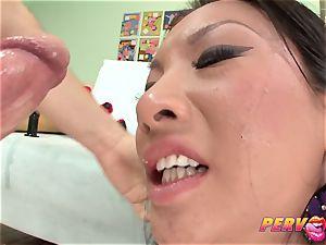 PervCity asian Asa Akira rump pummeled