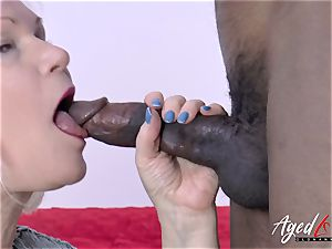 AgedLovE Lacey Starr and black guy hard-core