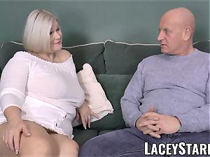 LACEYSTARR - buxom GILF negotiates a fine labia deal