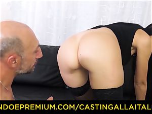 casting ALLA ITALIANA - messy newcummer anal invasion casting