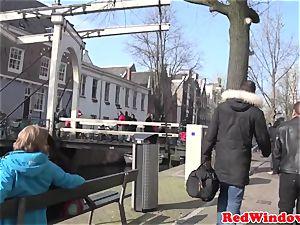Amsterdam call girl bj's customer