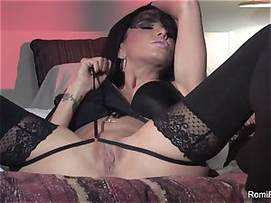 Behind the sequences of Romi Rain's super-sexy photoshoot