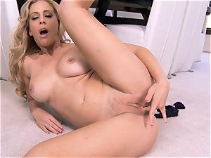 astounding milf Cherie Deville displays exactly what she enjoys