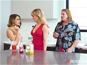 This mischievous family loves to share everything, dicks and vags included