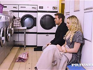 Private.com - Mia Malkova gets ravaged in the laundry