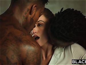 BLACKED Tori ebony Is well-lubed Up And dominated By two BBCs