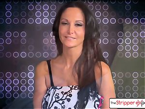 The Stripper experience- Ava Addams and get a ultra-cute boink