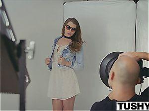 TUSHY very first buttfuck For Model Elena Koshka