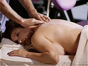marvelous Mimi Rogers gets her whole assets rubbed