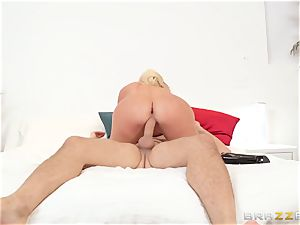 bitchy mummy seduces her sister's dedicated husband Keiran Lee