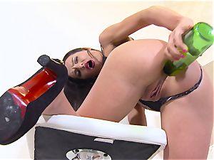 Bottle In Her backside