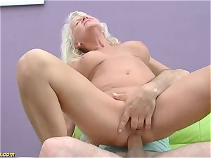 magnificent 73 years senior mother first fat pipe assfuck fuck