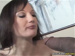 buxomy mommy Tris multiracial intercourse In Front Of Her sonnie