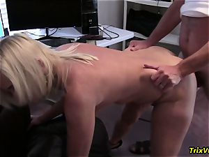 pummeling the red-hot assistant