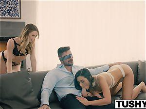 TUSHY Do ass-fuck with my boyfriend