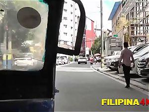Jhamela gets her holes slammed by insatiable tourists large fuck-stick