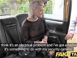 fake cab blondie milf gets surprise anal invasion hook-up