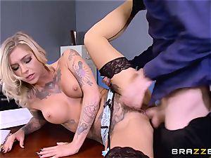 Kleio Valentien boner tucked by Danny D