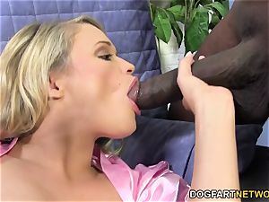 Heather star desires About large dark-hued boner