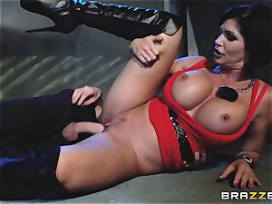 Mature hotty Shay Fox poked by a mean cop