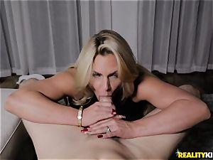 buxomy blonde Phoenix Marie cuckold nail