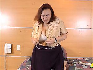 LatinChili molten huge-boobed grandmother Solos Compilation