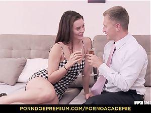porn ACADEMIE - schoolgirl Lana Rhoades home pulverizing