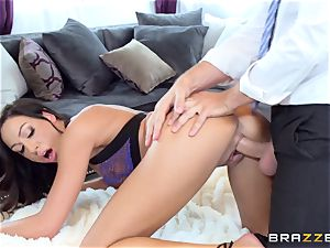 Tiffany Brookes gets what she needs from a travelling salesman