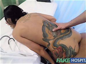 FakeHospital ultra-kinky Russian babe strips and screws