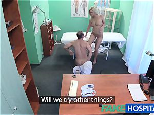 FakeHospital Sexual healing approach prescribed