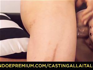 CASTNG ALLA ITALIANA - blond vixen raunchy double penetration orgy