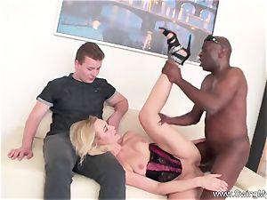 blondie German Swinger wife porks bbc