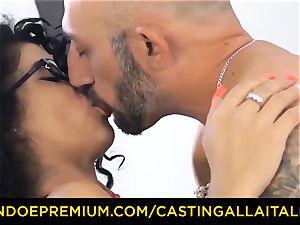 audition ALLA ITALIANA - Romanian nymphomaniac bootie nailed